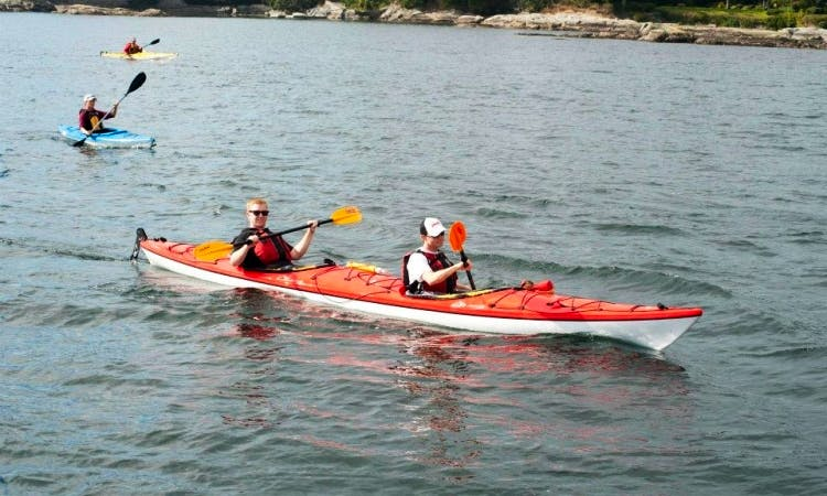 Rent a 15' Double Composite Kayak in Victoria, Canada