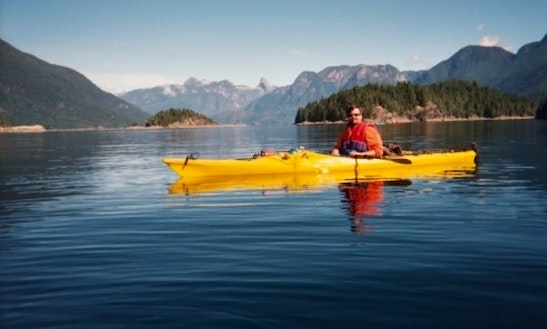 British Columbia-cortes Island Individual Sea Kayak Rental