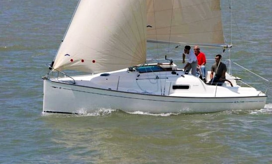 Charter A Jeanneau Sun 2500 In The Netherlands