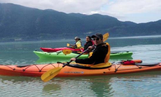 Touring Kayak Squamish Rental On Lake Powell