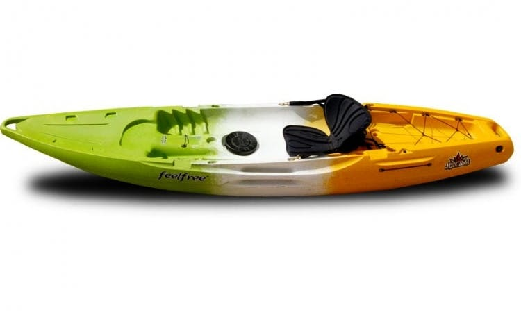 Single Sit On Top Feelfree Kayak Juntos on Lake Powell