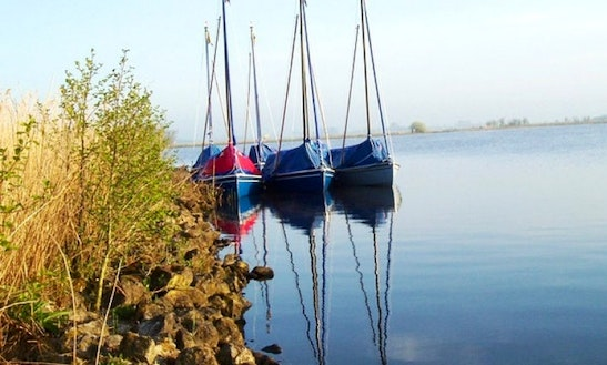 Rent Polyvalk Sailboat In Friesland