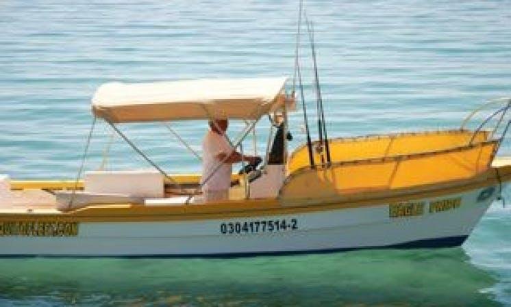 Fishing Charter on Open Pangas in La Paz