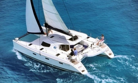 Sailing Charter On 40' Nautitech Cruising Catamaran In Split, Croatia