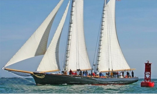 Enjoy 139' America - Luxury Charter Schooner In San Diego