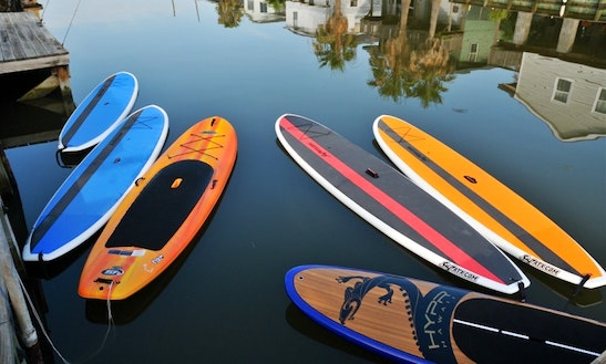 Stand Up Paddleboard Rentals On The Water!