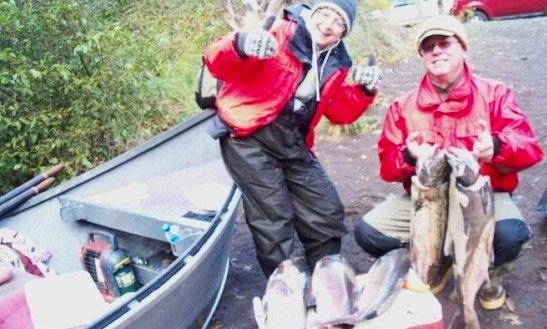 Guided Klickitat River Salmon Steelhead Trips