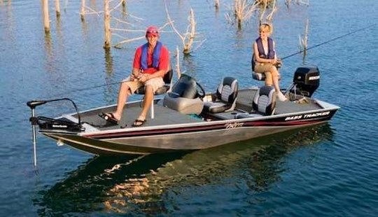 Rent A Bass Tracker Bass Boat For 3 People On Kentucky Lake