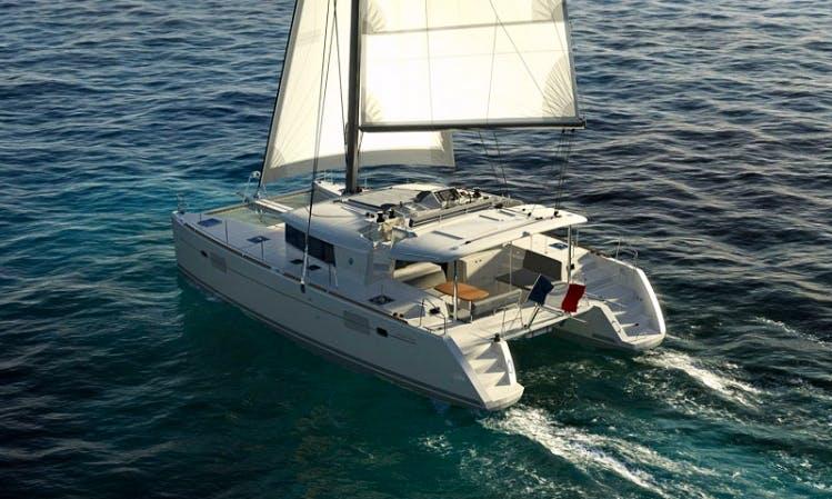 Lagoon 450 Sailing Catamaran in Tropea, Calabria