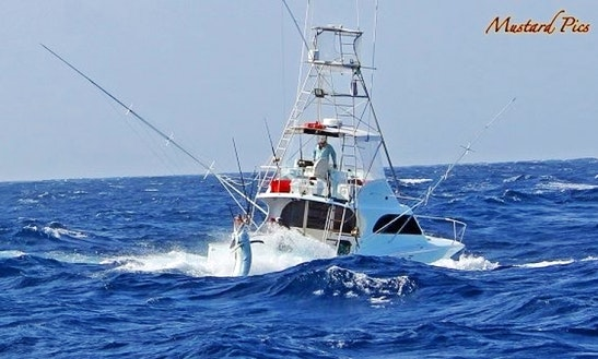 46ft Sport Fisherman Charter In Australia