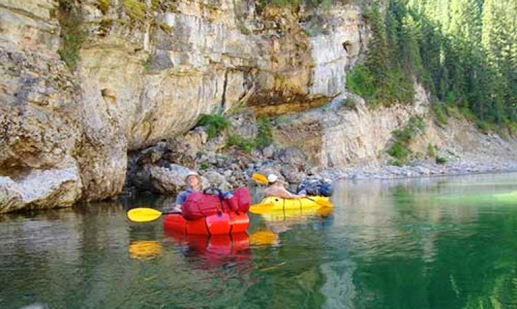 Rent Inflatable Rafts in Whitefish, Montana