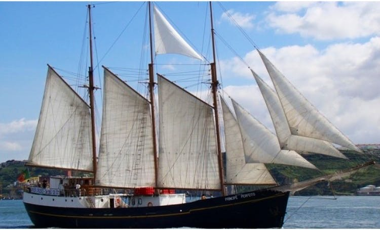 136' Wind Jammer Charter in Lisbon, Portugal