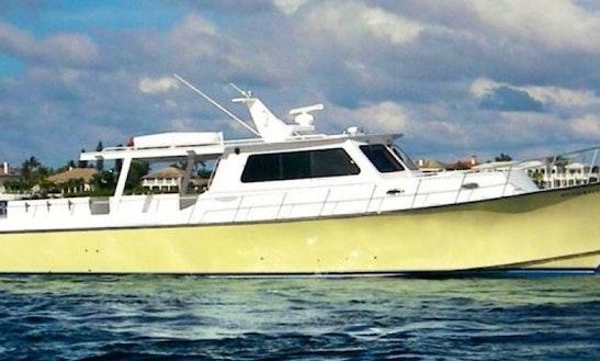 48' Head Boat Charter In Hypoluxo, Florida
