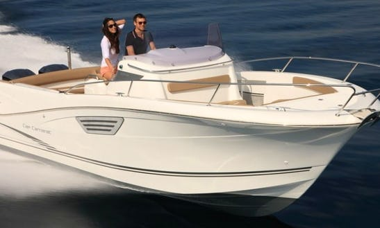 Rent The Jeanneau Cap Camarat 8.5 Power Boat In Cogolin, France