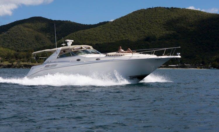 Charter Sea Ray in Charlotte Amalie