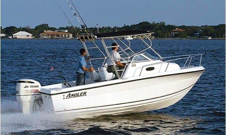 24' Angler Fishing Charter Cabo San Lucas