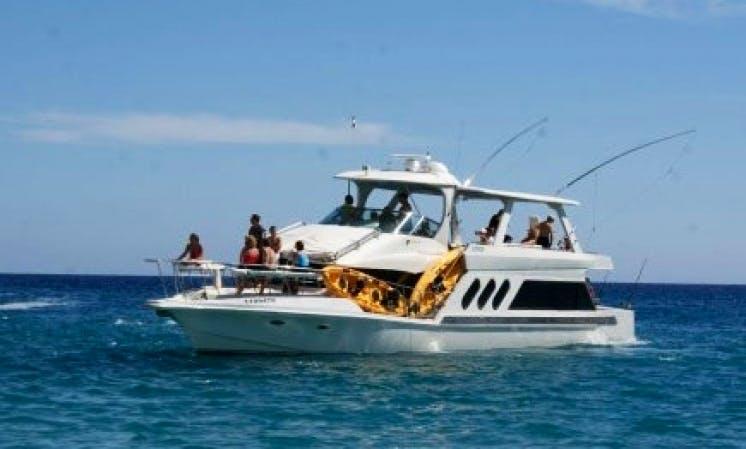 72' Fishing Charter Cabo San Lucas