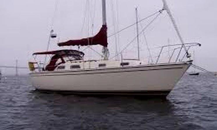 34' Cruising Monohull Rental in Boston, Massachusetts