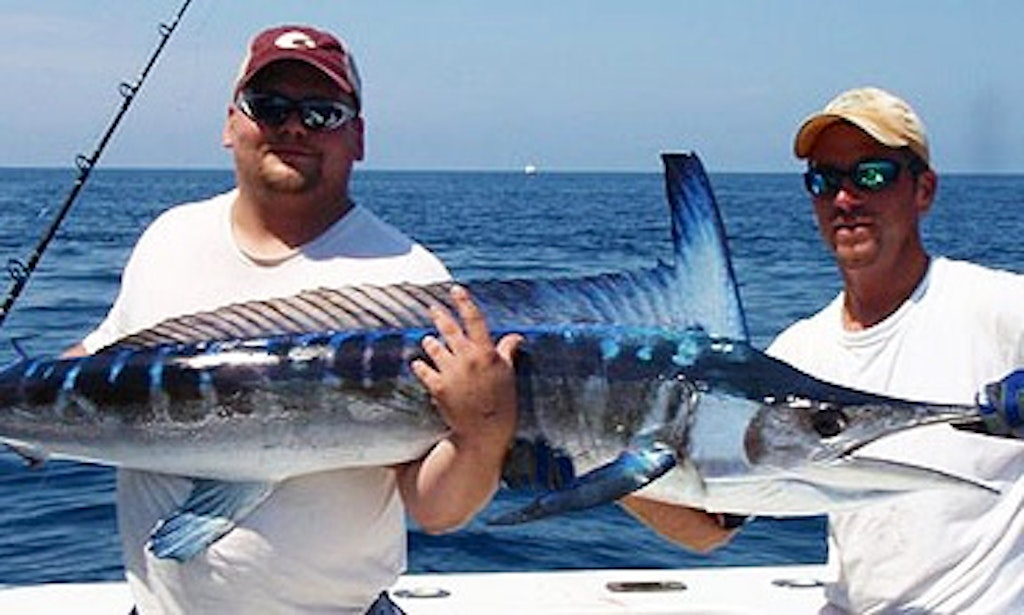 37ft fishing charter in lewes delaware with captain cher