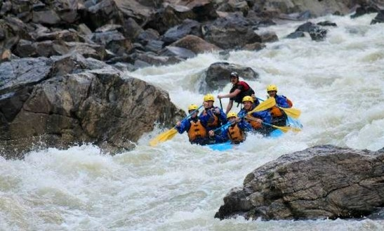 White Water Rafting In Kremmling, Colorado