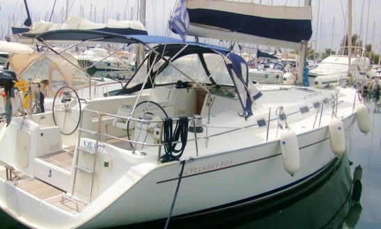 Beneteau Cyclades 50.5 Sailing Yacht Charter Athens, Greece