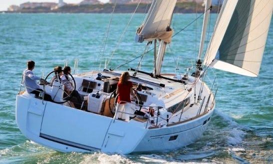 Charter 2013 Sun Odyssey 469 Sailboat In Alimos, Attica