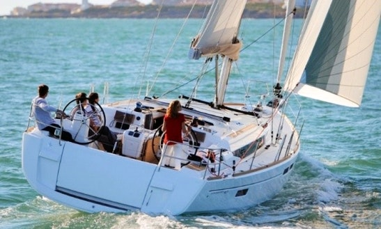 Charter A 8 People Sun Odyssey 469 Sailboat In Alimos, Attica