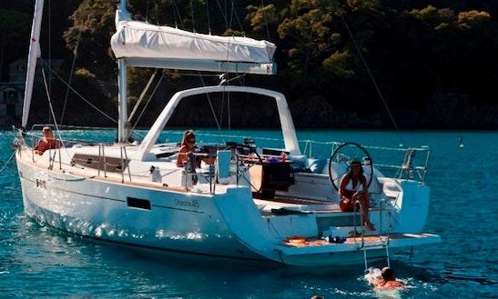 Charter 45' Beneteau Oceanis Athens, Greece