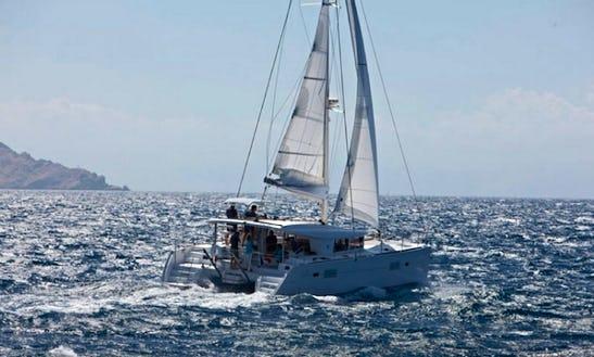 Catamaran Charter Lagoon 400 S2 Athens, Greece