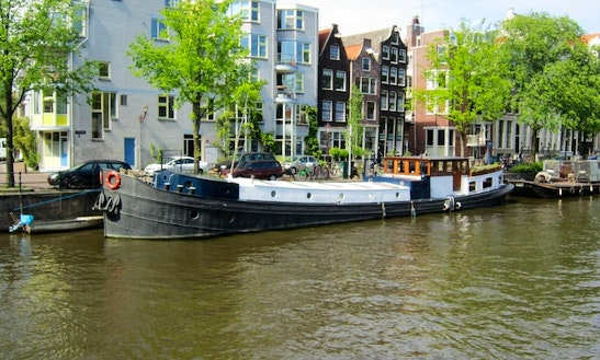 104' Houseboat Charter In Amsterdam, Netherlands