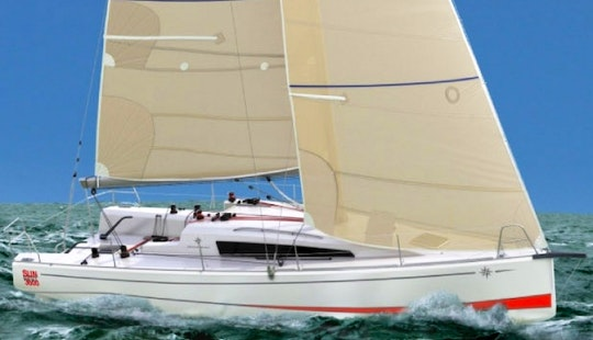 Charter Jedi Knight And Storm Trooper Jeanneau Sunfast 37 In Southampton