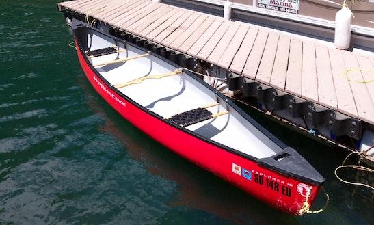 16ft Mad River Canoe- 2 Passenger