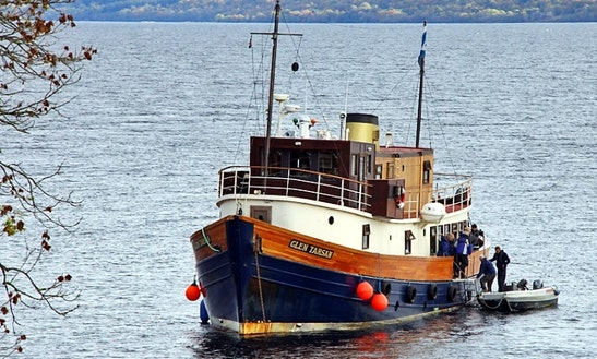 Glen Tarsan Trawler, Charter Private Cruise, Sandbank Scotland