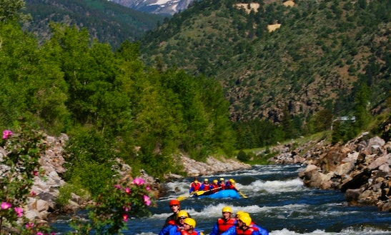 Guided Whitewater Rafting Trips In Idaho Springs
