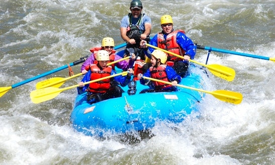 Guided Raft Trip Through The Royal Gorge