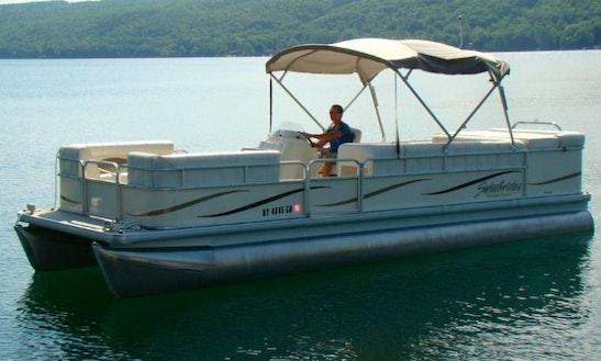 24' Pontoon Boat (130hp)