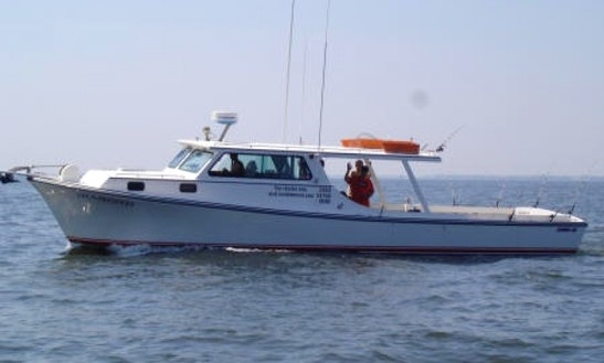 Head boat fishing trips in hanover maryland getmyboat for Md fishing charters