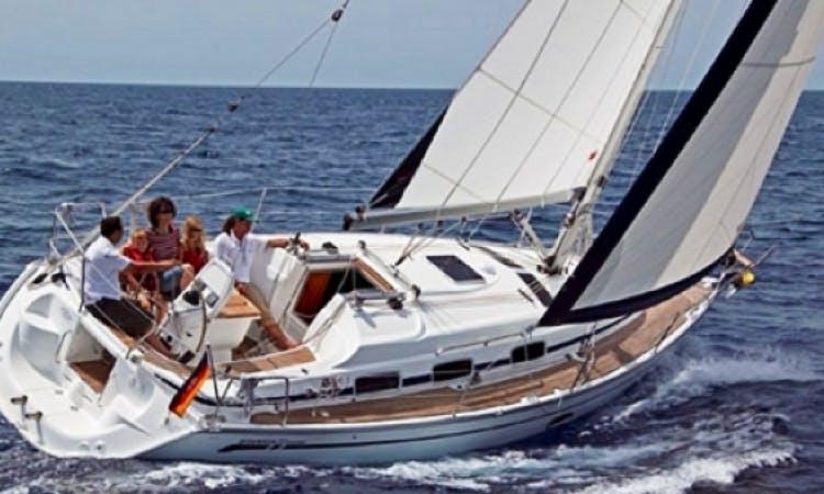 Charter 33' Bavaria Sailboat in Sardinia Italy