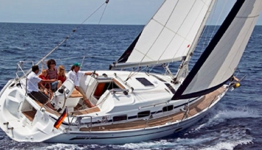 Charter 33' Bavaria Sailboat In Sardinia Italy
