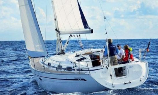 Charter 37' Bavaria Sailboat In Sardinia Italy