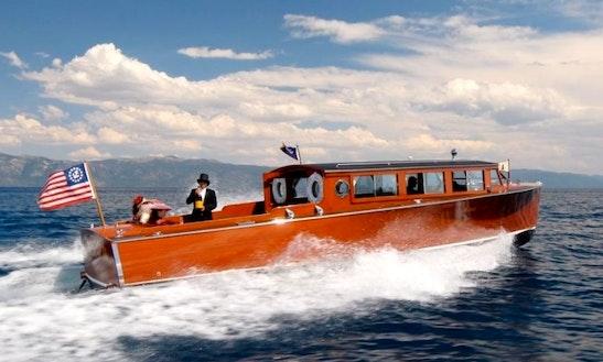 Passenger Boat Boat Rental In Tahoe Vista