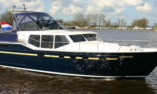 Charter A Vacance 1300 Houseboat In Friesland, Netherlands
