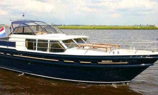 Charter This Valk-voyager 1450 Motor Yacht Rental In Terherne, Netherlands