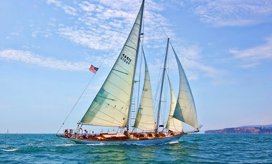 The 82' Historic Schooner