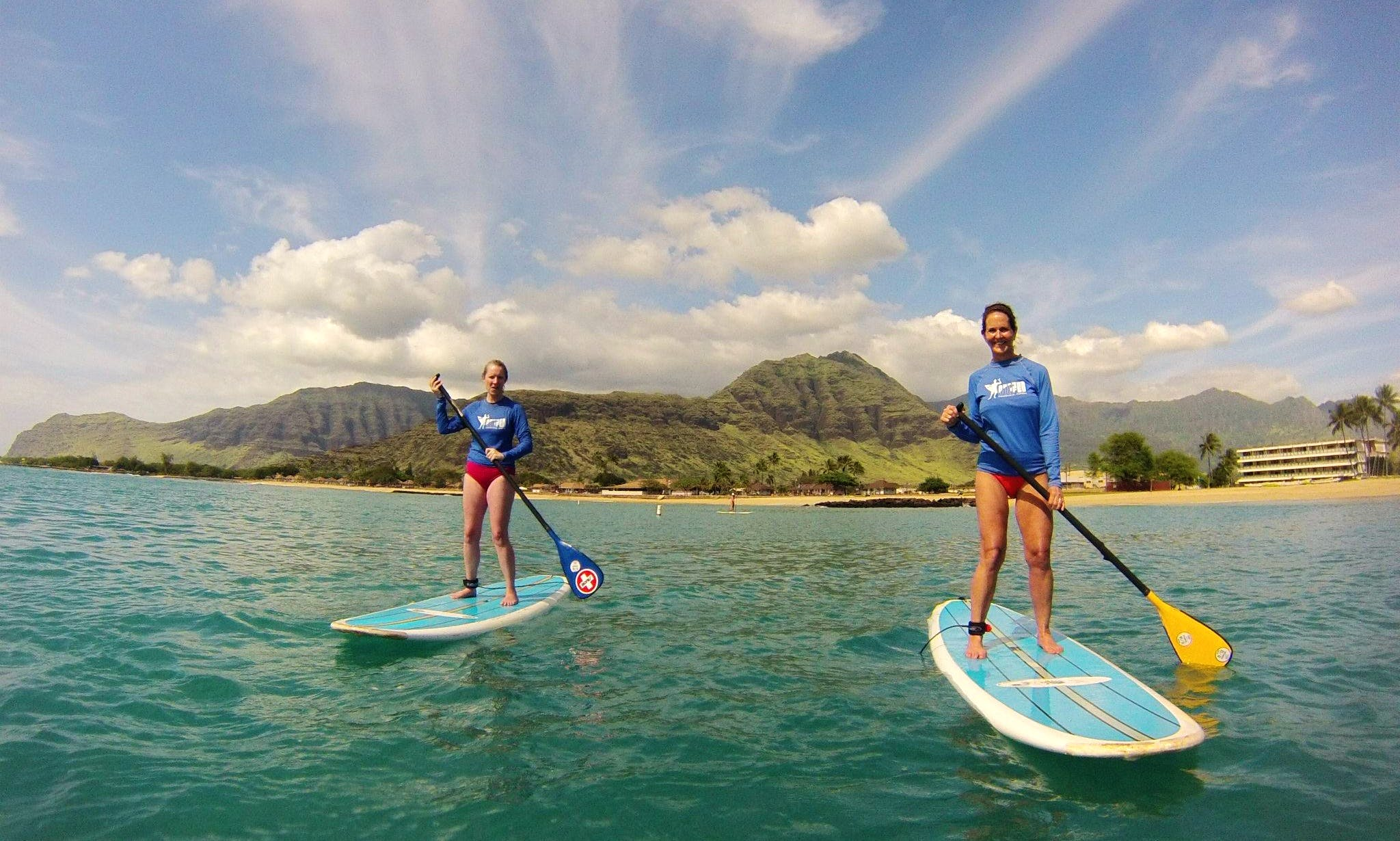 Affordable stand-up paddleboard rentals in Honolulu, Hawaii