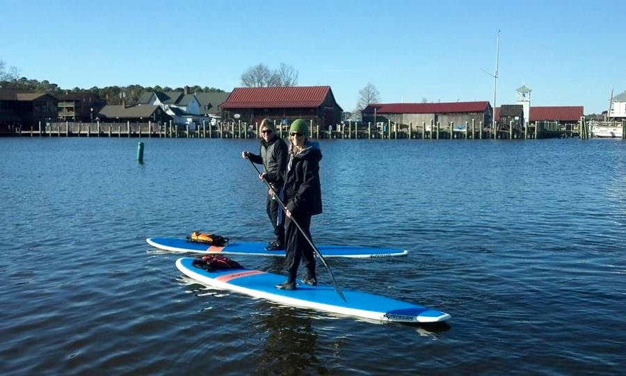 Rent a Stand-Up Paddleboard in Easton, Maryland