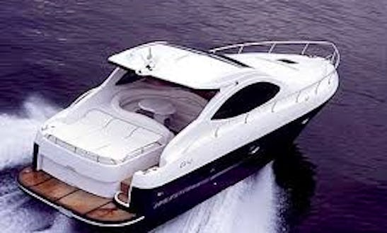 Cruise On A Motor Yacht Rental In Fiumicino, Italy