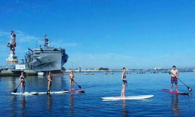 Stand-up (SUP) Paddleboard Rental in Coronado, California