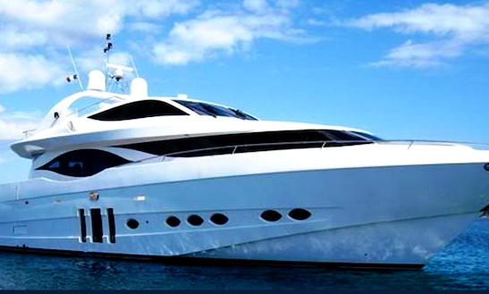 90' Eagle Luxury Charter In Miami