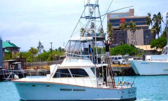 48ft Egg Harbor Yacht Sportfisher On Oahu, Hawaii